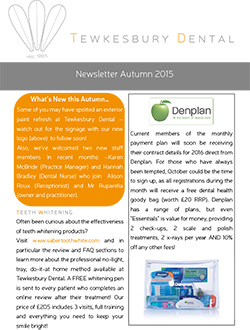 Newsletter Autumn 2015