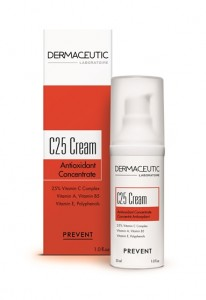 C25 Cream Box Bottle Dermaceutic